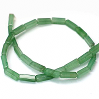16 Inch Natural Aventurine 12x4mm Cuboid Beads